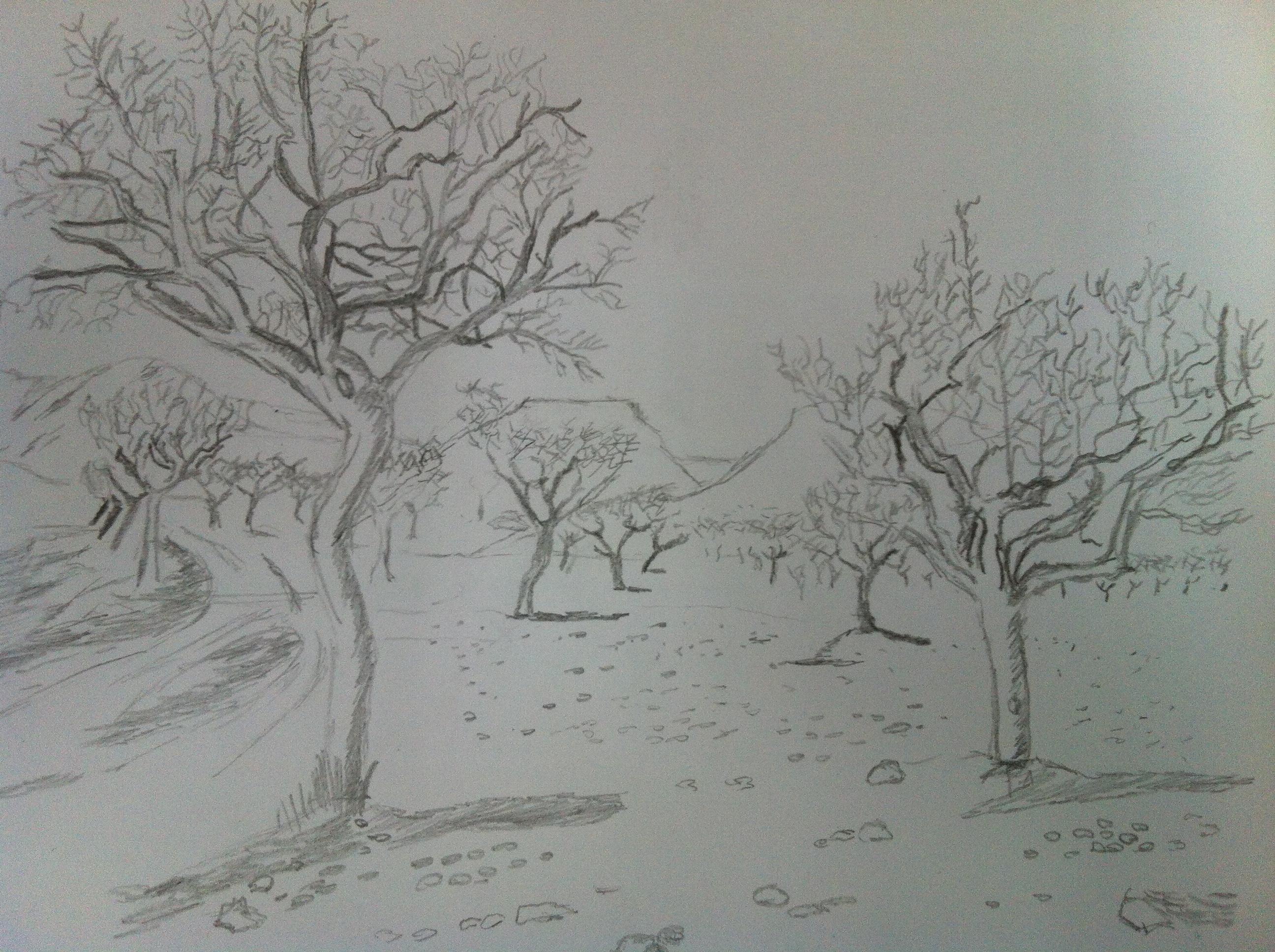 Paisajes Faciles de Dibujar a Lapiz Paisajes Para Dibujar a Lapiz