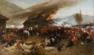 The_defense_of_Rorke's_Drift de Alphonse de Neuville, 1880